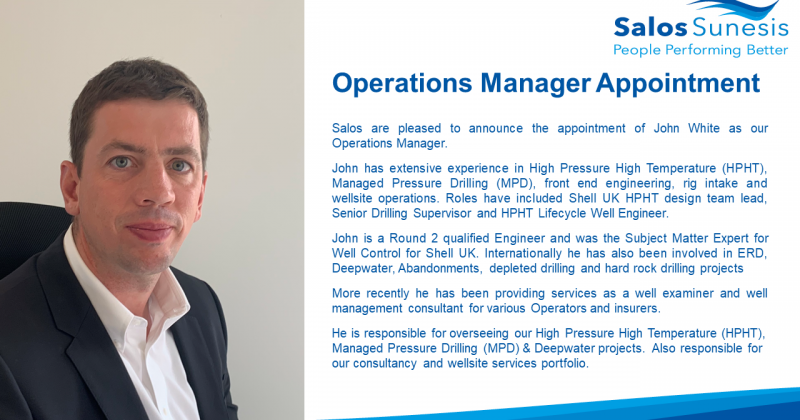 Operations Manager Appointment